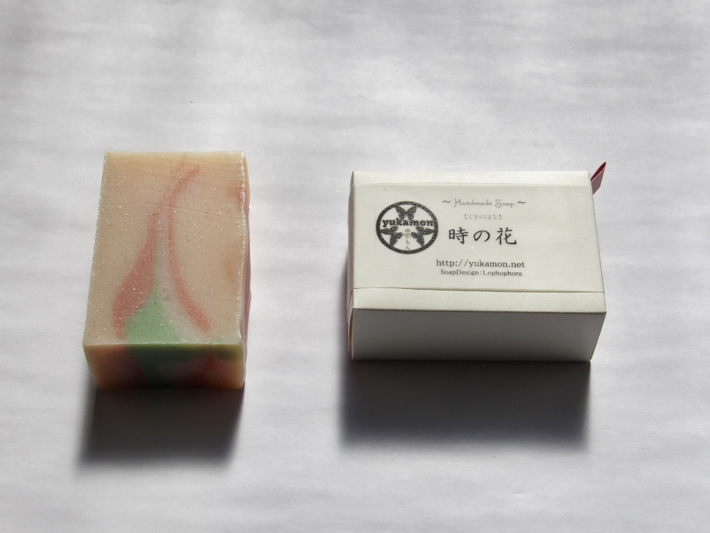 04yukamon soap art 時の花